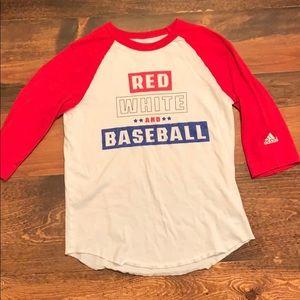 Youth adidas baseball shirt